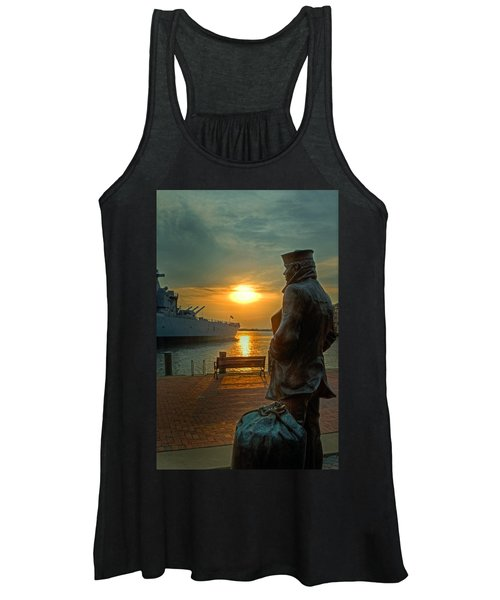 The Lone Sailor Women's Tank Top