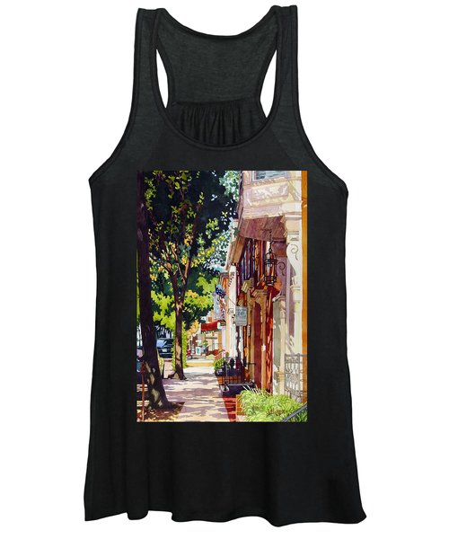 The Long Walk To Market Women's Tank Top