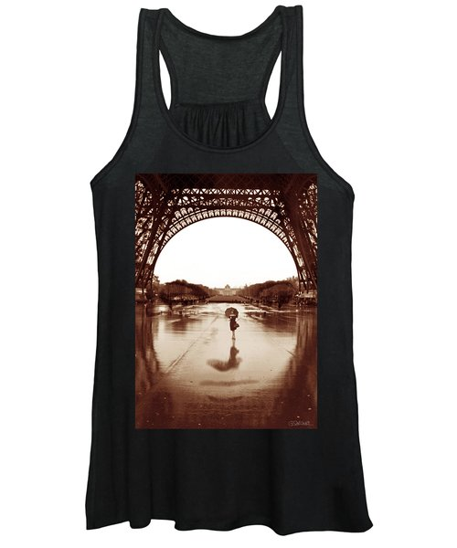The Other Face Of Paris Women's Tank Top