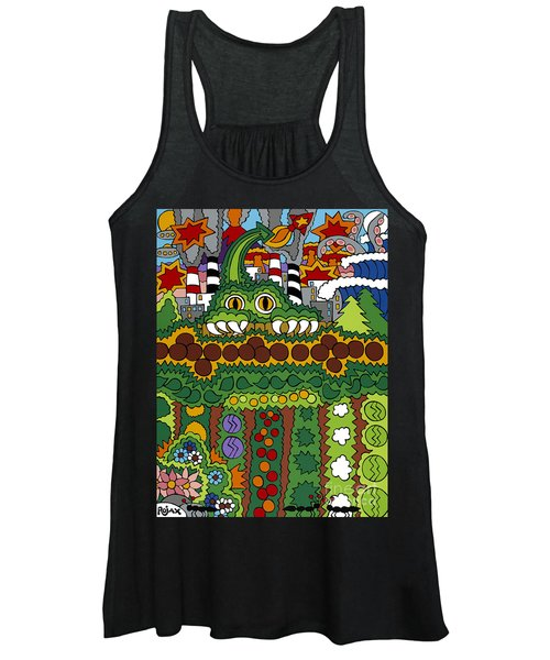 The Other Side Of The Garden  Women's Tank Top