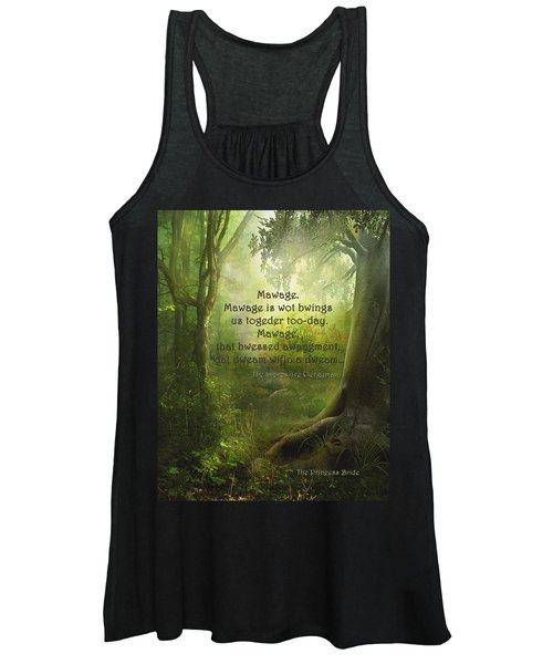 The Princess Bride - Mawage Women's Tank Top