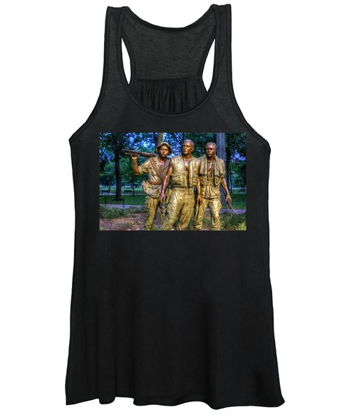 The Three Soldiers Facing The Wall Women's Tank Top