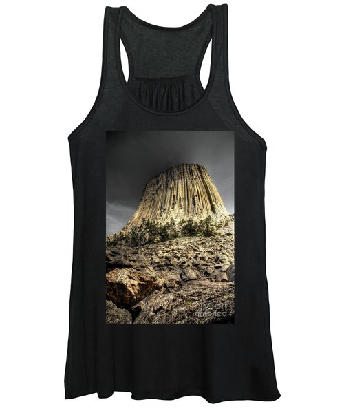 The Tower Of Boulders Women's Tank Top