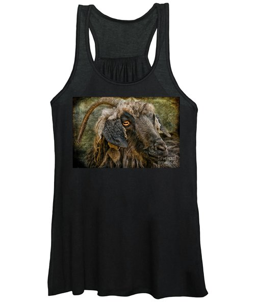 The Year Of The Goat Women's Tank Top