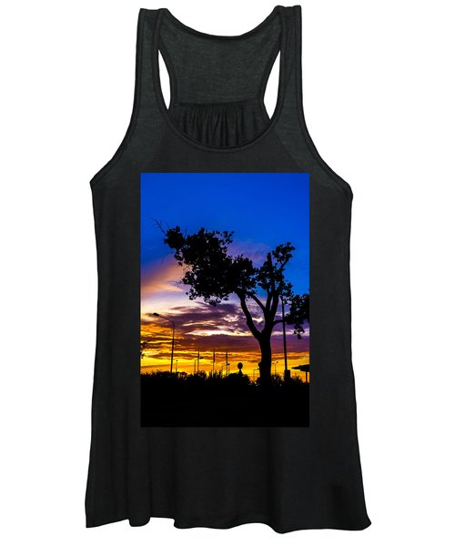 There Is Something Magical About The Sky Women's Tank Top