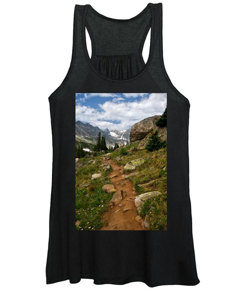 Trail To Lake Isabelle Women's Tank Top