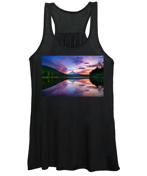 Trillium Lake Sunrise Women's Tank Top