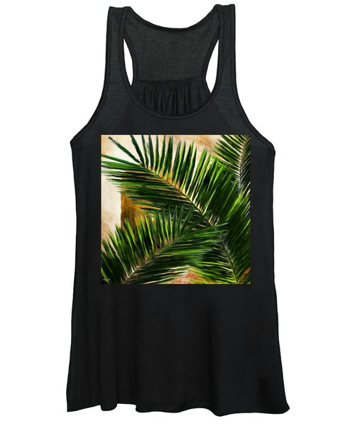 Tropical Leaves Women's Tank Top