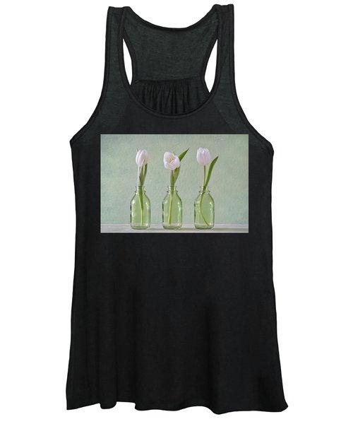Tulips In A Bottle Women's Tank Top