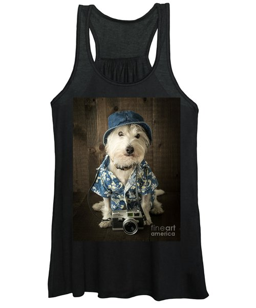 Vacation Dog Women's Tank Top