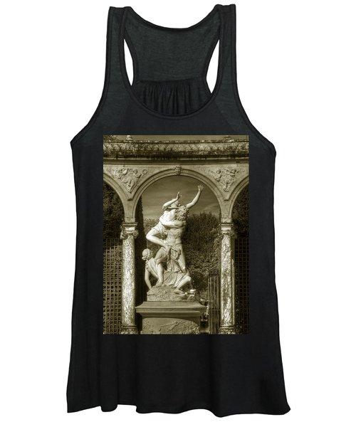 Versailles Colonnade And Sculpture Women's Tank Top