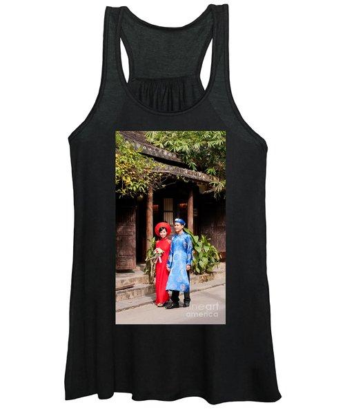 Vietnamese Wedding Couple 01 Women's Tank Top