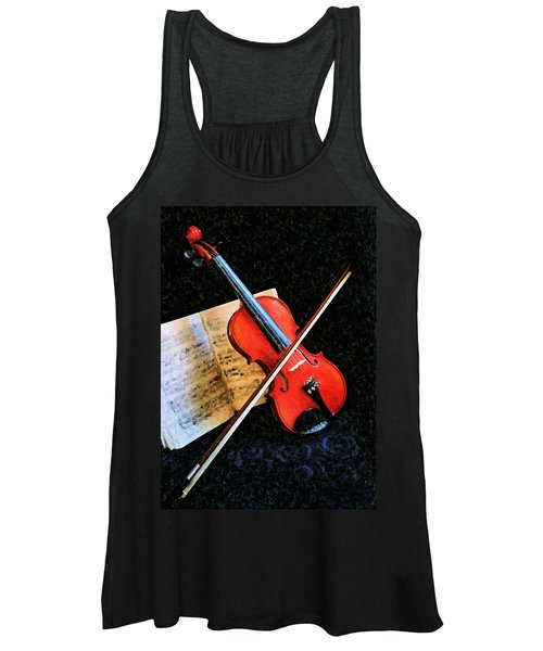 Violin Impression Redux Women's Tank Top