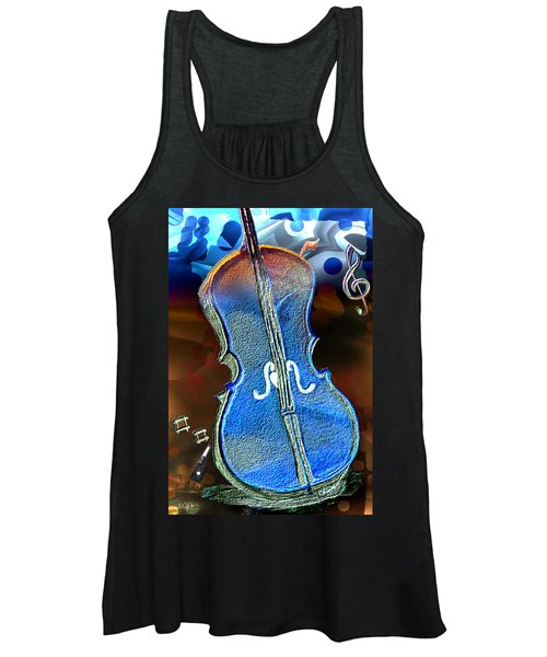 Violin Solo Women's Tank Top