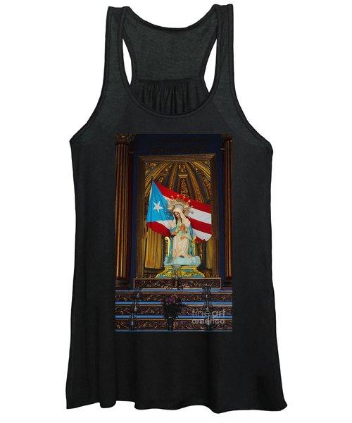 Virgin Mary In Church Women's Tank Top