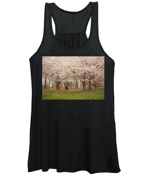 Washington Dc Cherry Blossoms Women's Tank Top