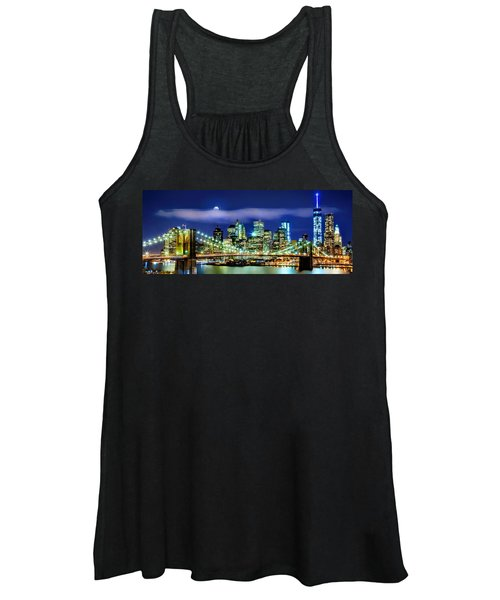 Watching Over New York Women's Tank Top