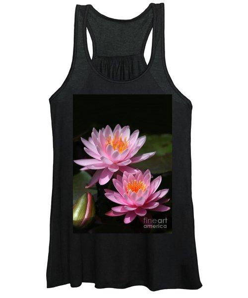 Water Lilies Love The Sun Women's Tank Top