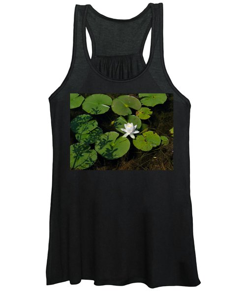 Water Lily Women's Tank Top