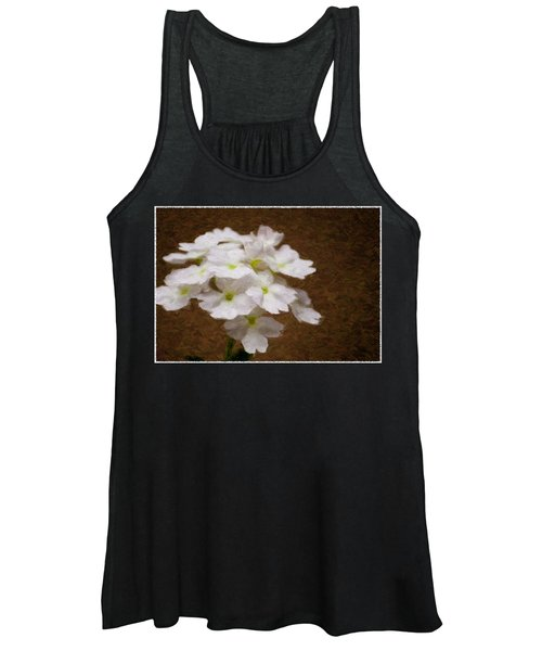 Watercolor Of Daisies Women's Tank Top
