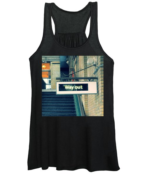 Way Out Women's Tank Top