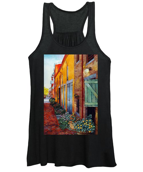 Weathered Door Rustic Path Women's Tank Top