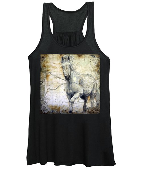 Whipsers Across The Steppe Women's Tank Top