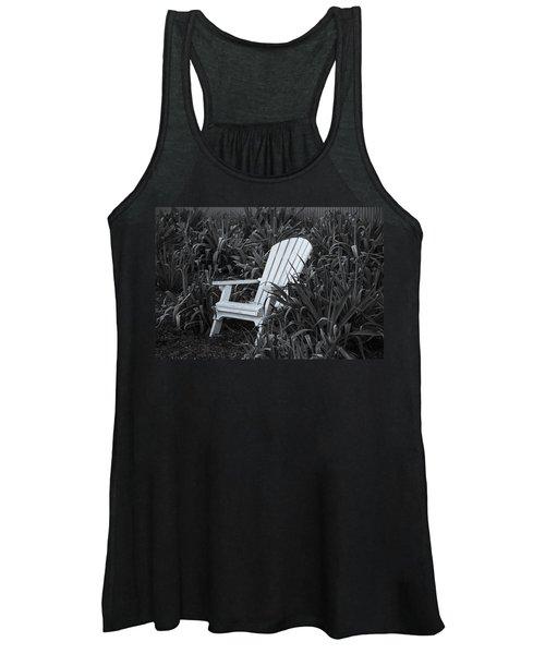 White Chair Women's Tank Top