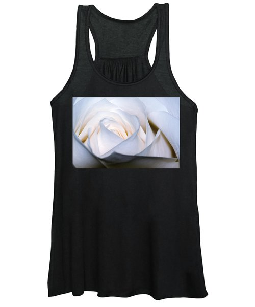 White Rose Women's Tank Top