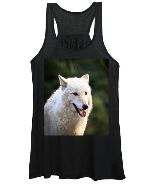 White Wolf Pant Women's Tank Top