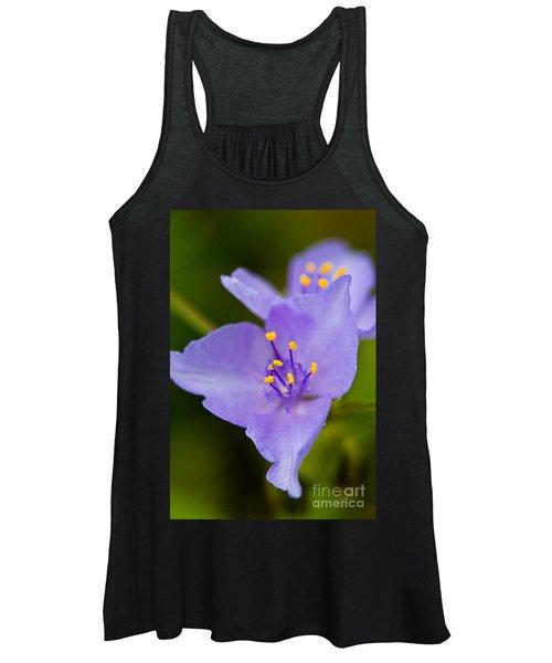 Wild Purple Spiderwort 1 Women's Tank Top