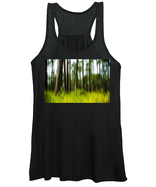 Wildflowers In The Forest Women's Tank Top