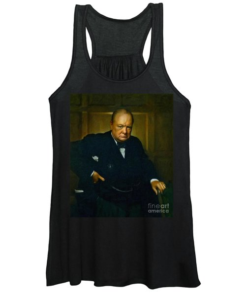 Winston Churchill Women's Tank Top