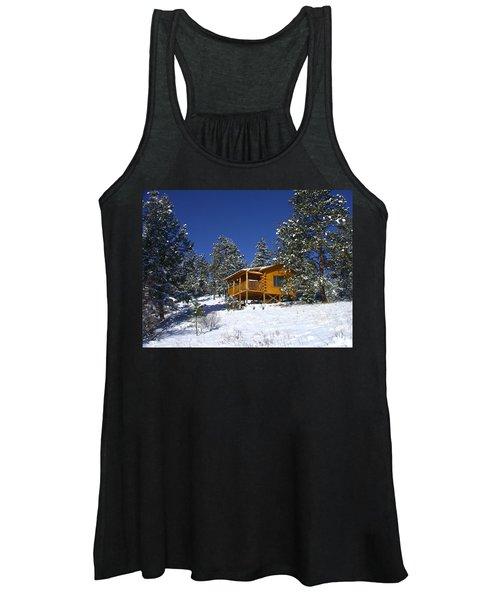 Winter Cabin Women's Tank Top
