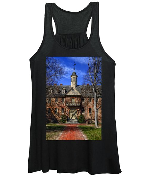 Wren Building Main Entrance Women's Tank Top