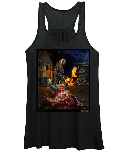 Wrong Turn Women's Tank Top