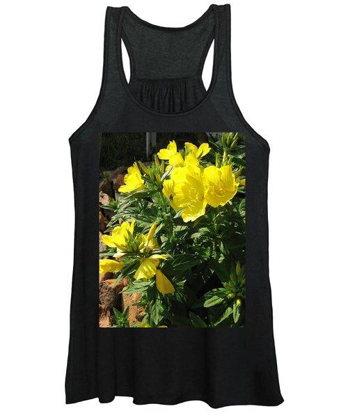 Yellow Primroses Women's Tank Top