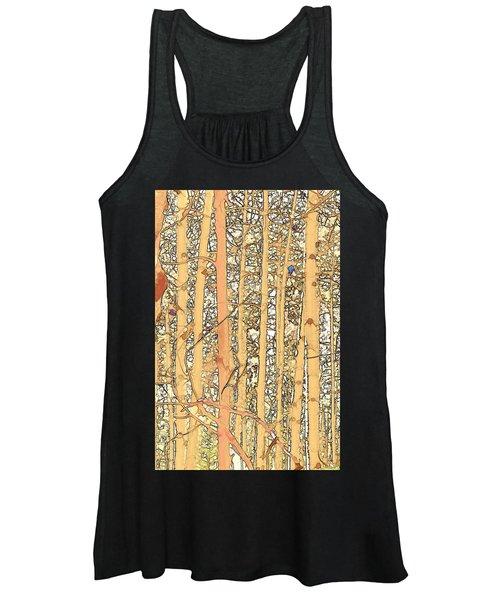 Abstract Aspens Women's Tank Top