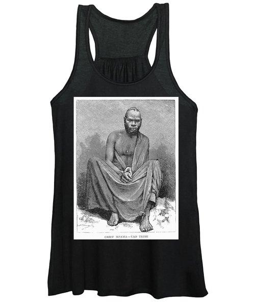 Africa: Yao Chief, 1889 Women's Tank Top