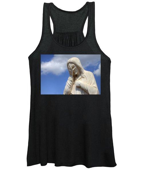 And Jesus Wept IIi Women's Tank Top