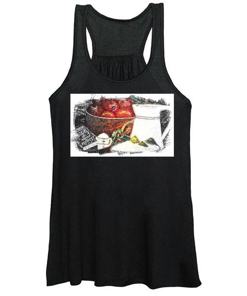Apple And Rhubarb Pie Women's Tank Top