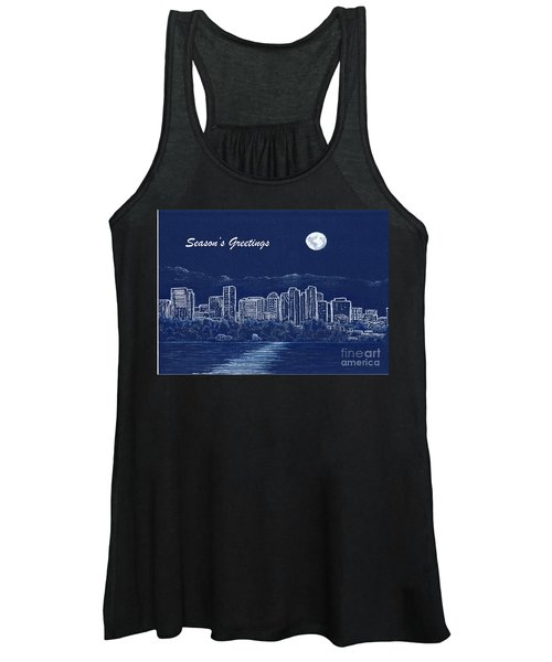 Bellevue Skyline Holiday Card Women's Tank Top