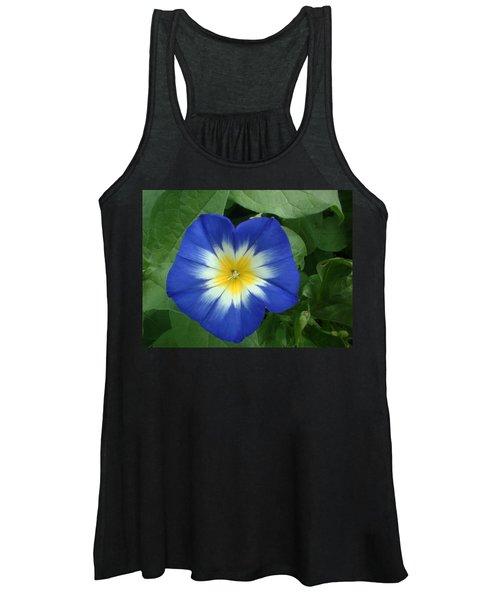 Blue Burst Women's Tank Top