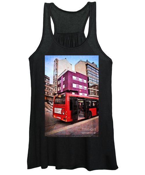 Bus Stop - La Coruna Women's Tank Top