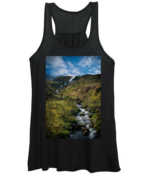 Calmness At The Falls Women's Tank Top