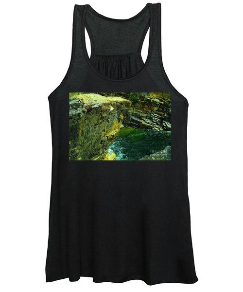 Colored Rocks  Women's Tank Top
