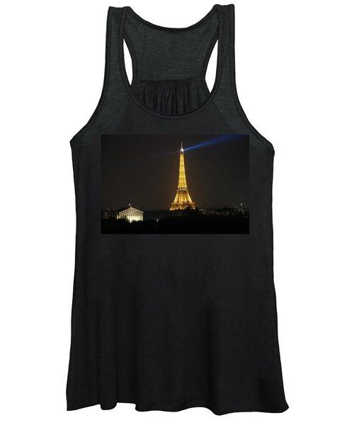 Eiffel Tower At Night Women's Tank Top