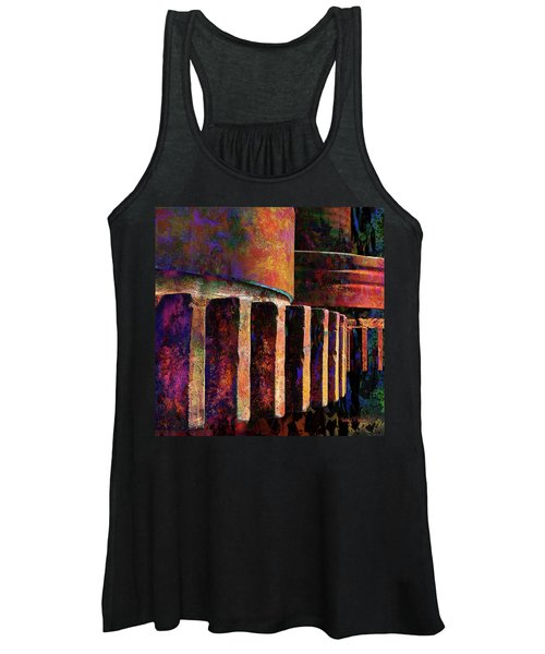 Fiery Glow Women's Tank Top