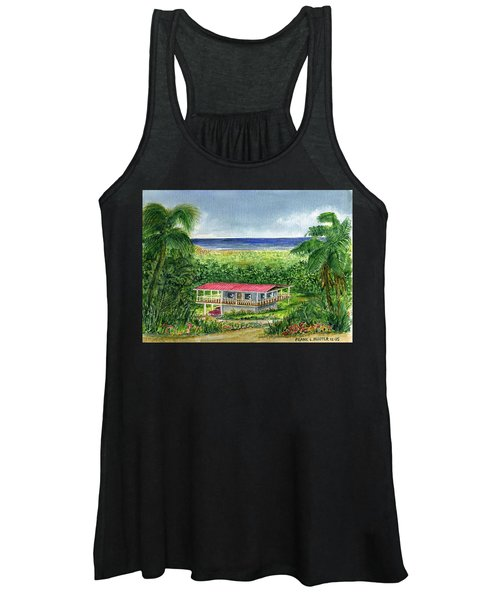 Foothills Of El Yunque Puerto Rico Women's Tank Top