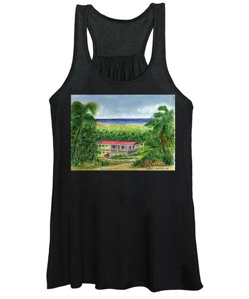 Foothills Of El Yunque Puerto Rico Women's Tank Top